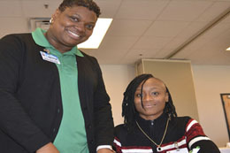 Thanks to MCC's Adult Education Program's first Job Fair held at the Ralph E. Young Center, Bush and others are getting that chance to reach her dreams.