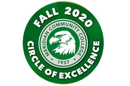 Sixteen Meridian Community College graduates have been chosen as members of the Fall 2020 Circle of Excellence.