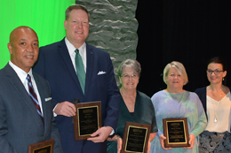 Each year, MCC honors a group of servant-leaders who have distinguished themselves in their professions and their community service with the Meridian Community College Hall of Fame award.