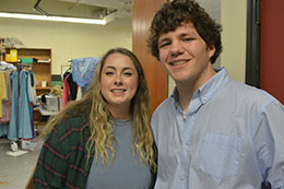 It's been said that theater at its best is a collaborative process. That phrase rings true for Meridian Community College students Emily Huebner and Luke Thomas.