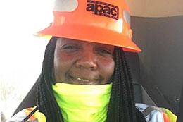 MCC alumna Tracee Wilson keeps on trucking